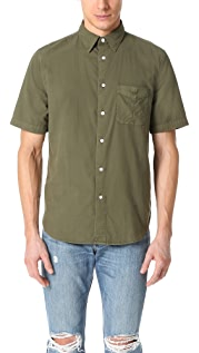 Rag & Bone Standard Issue Standard Issue Short Sleeve Beach Shirt