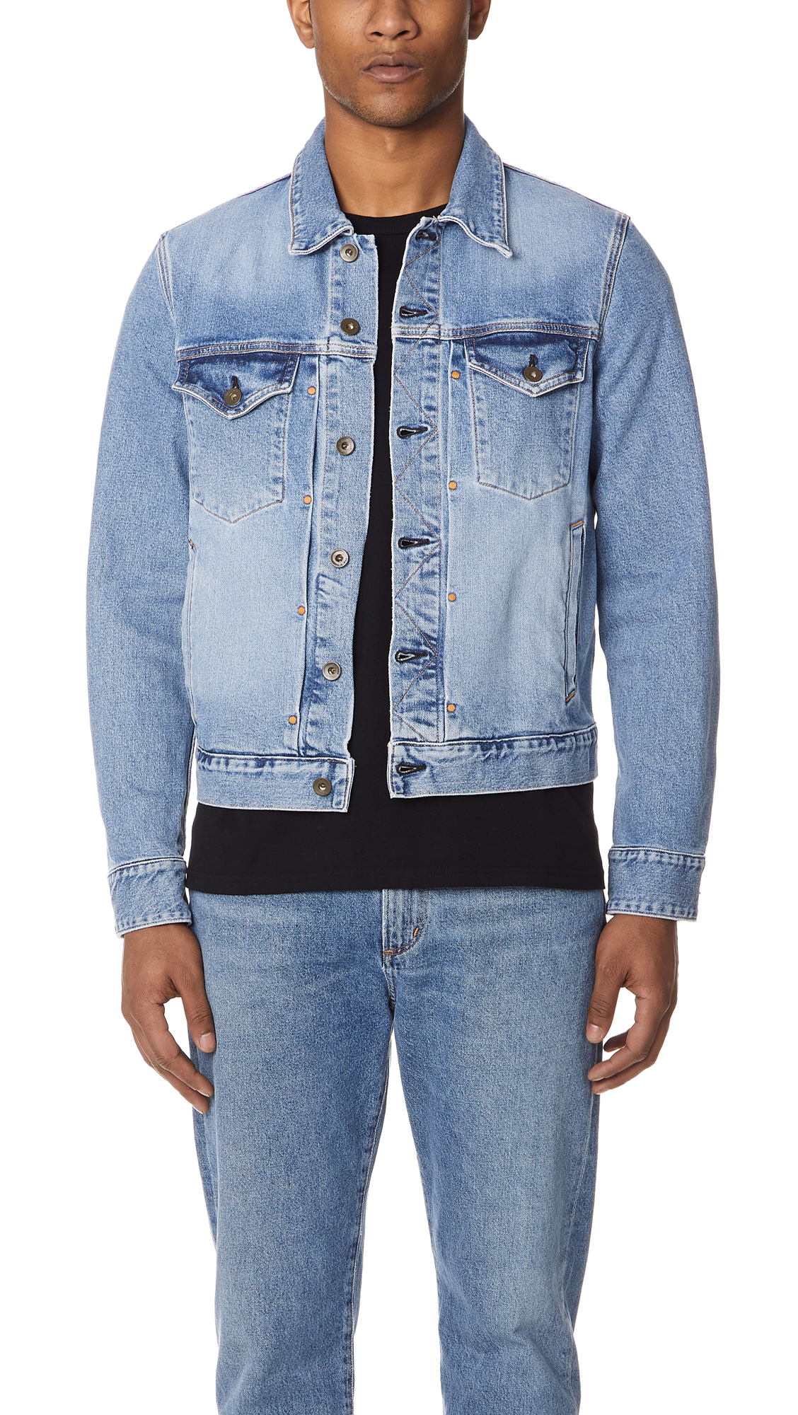 28e96375a604a Rag   Bone Standard Issue Jean Jacket