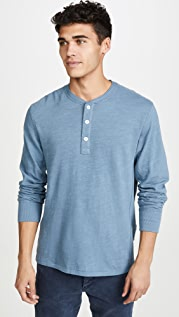 Rag & Bone Standard Issue Classic Long Sleeve Henley