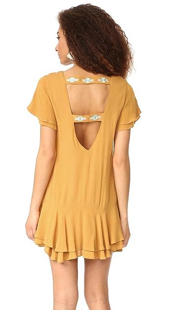 RahiCali Poppy Ruffle Dress