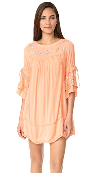 RahiCali Gardenia Forever Dress In Peach