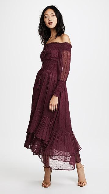 RahiCali Juliet Smocked Maxi Dress