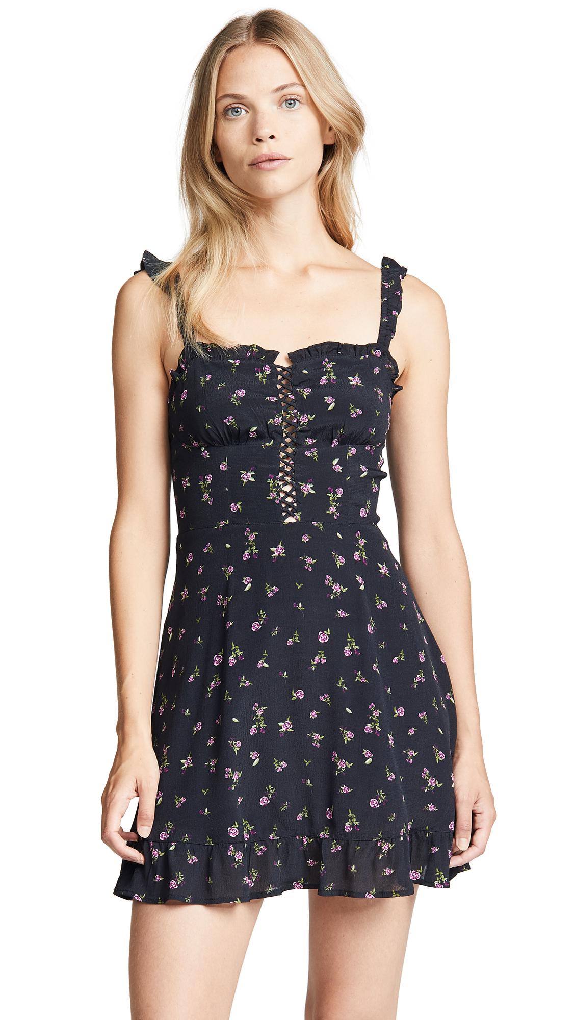 Rahi Lilac Rose Mini Dress