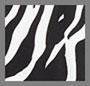 Black/White Tiger Print