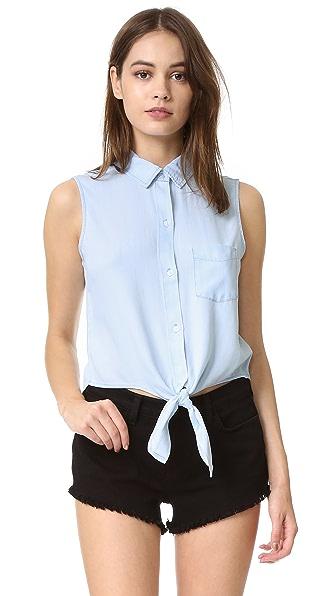 RAILS Shea Sleeveless Button Down Shirt