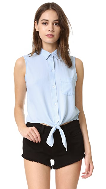 RAILS Shea Sleeveless Button Down Shirt