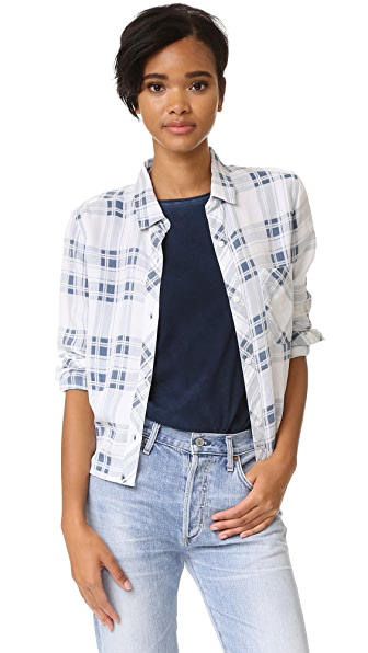 RAILS Dana Plaid Button Down Shirt