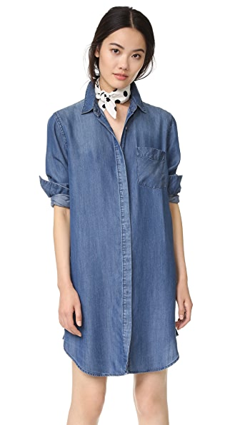 RAILS Sawyer Button Down Shirtdress
