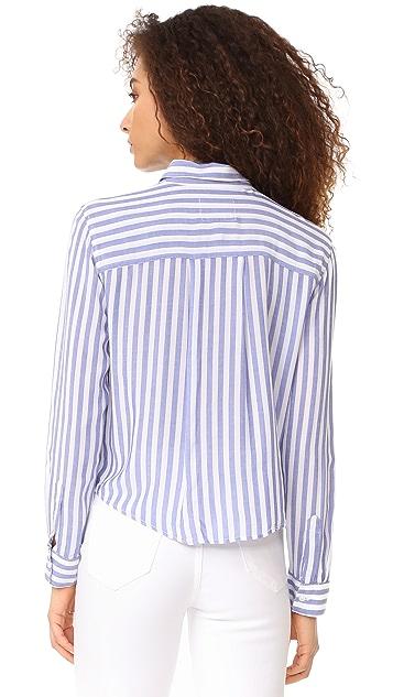RAILS Val Stripe Button Down Shirt