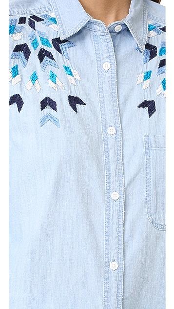 RAILS Brett Button Down Shirt