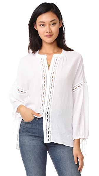RAILS Reese Blouse - White