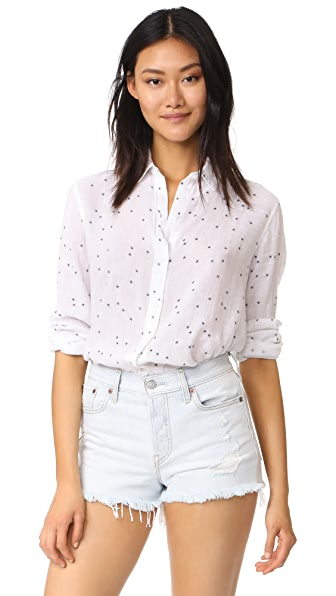 RAILS Sydney Button Down - Navy Stars