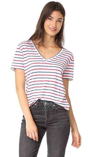 RAILS Cara Tee - Americana Stripe