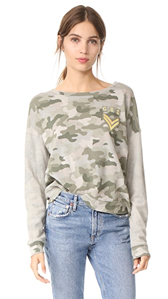 RAILS Kelli Top In Camo