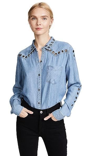 RAILS Clayton Shirt In Medium Vintage