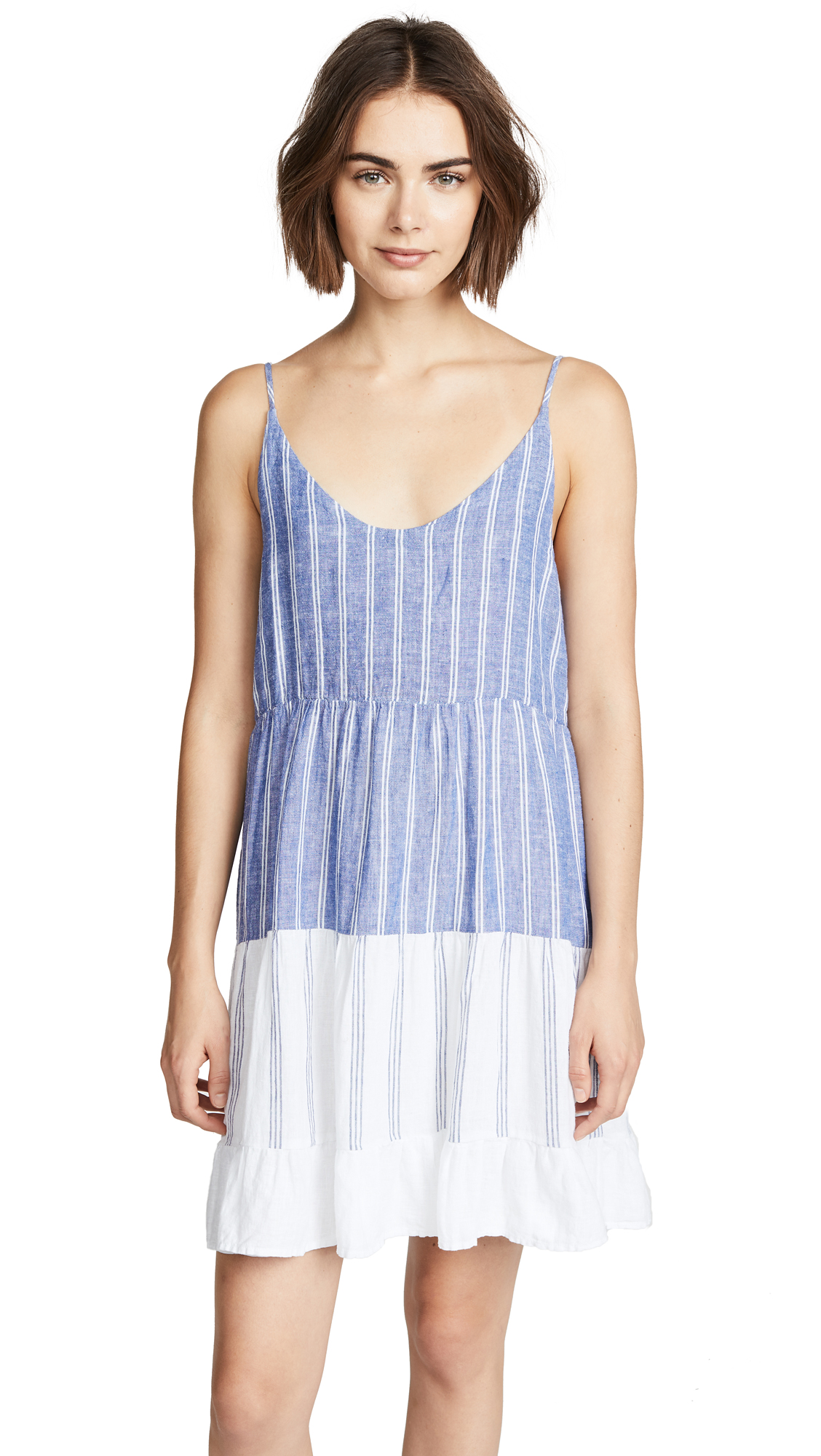 RAILS Mattie Dress In Mixed Blues Stripe