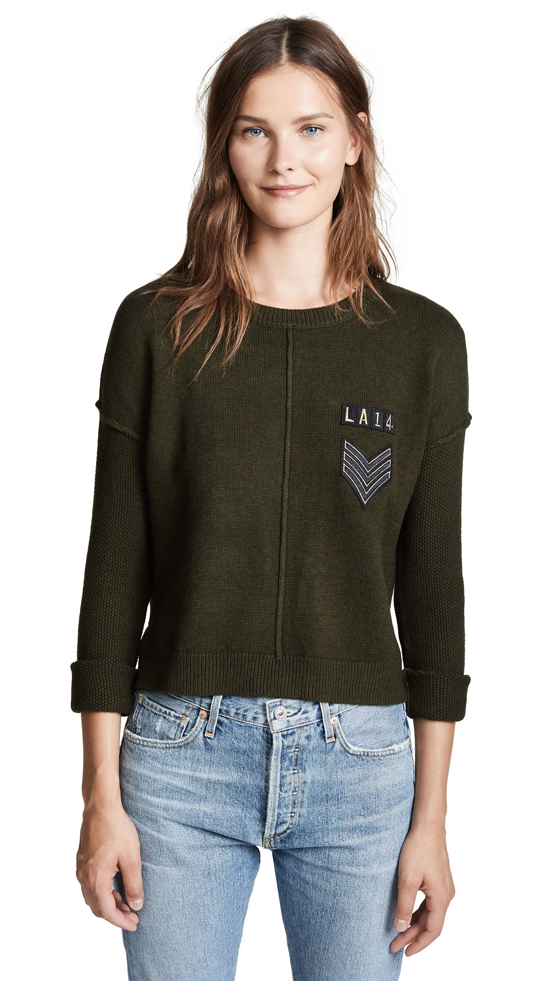 Stafford Sweater, Olive