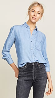 RAILS Ingrid Raw Button Down Shirt