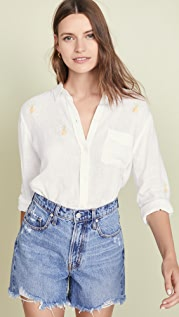 RAILS Рубашка на пуговицах Charli с вышивкой