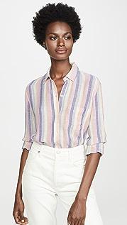 RAILS Charli Linen Button Down Shirt
