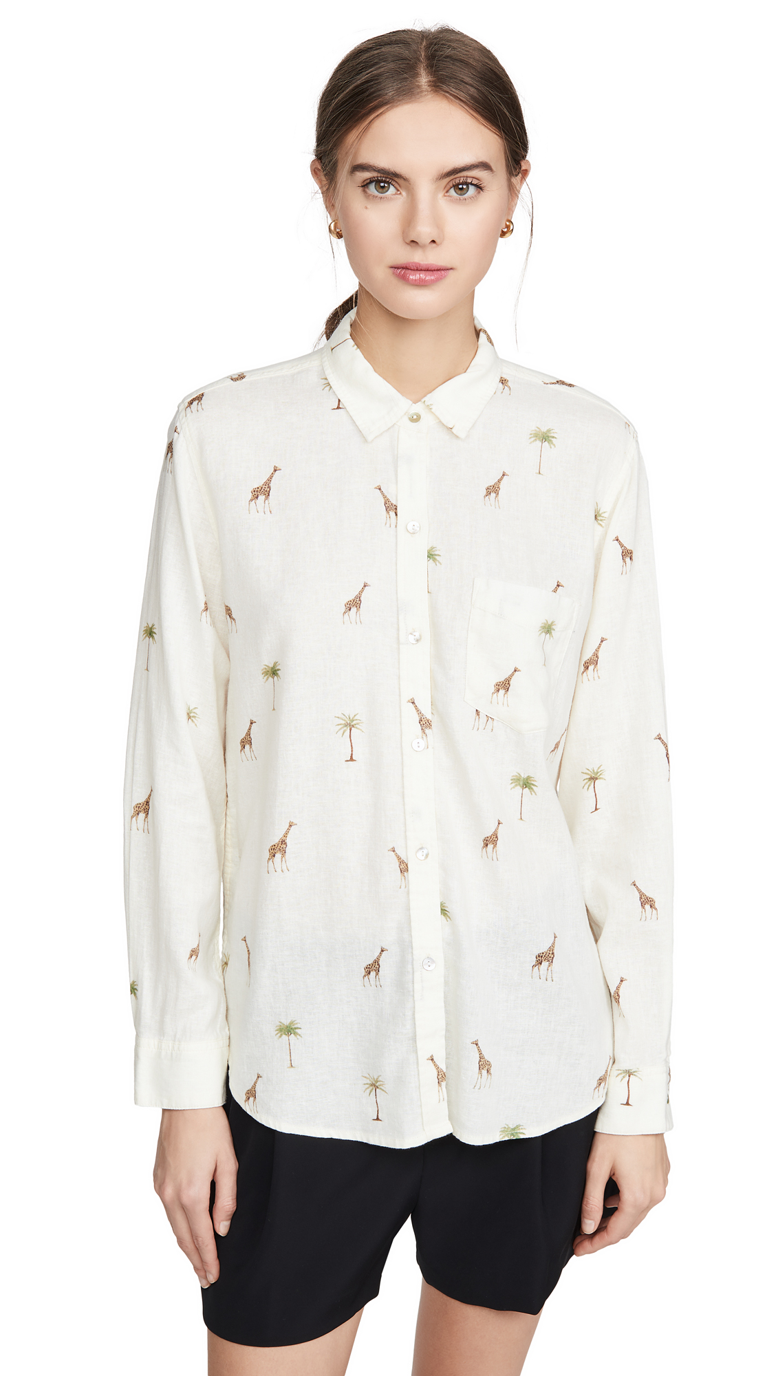 Buy RAILS online - photo of RAILS Charli Button Down