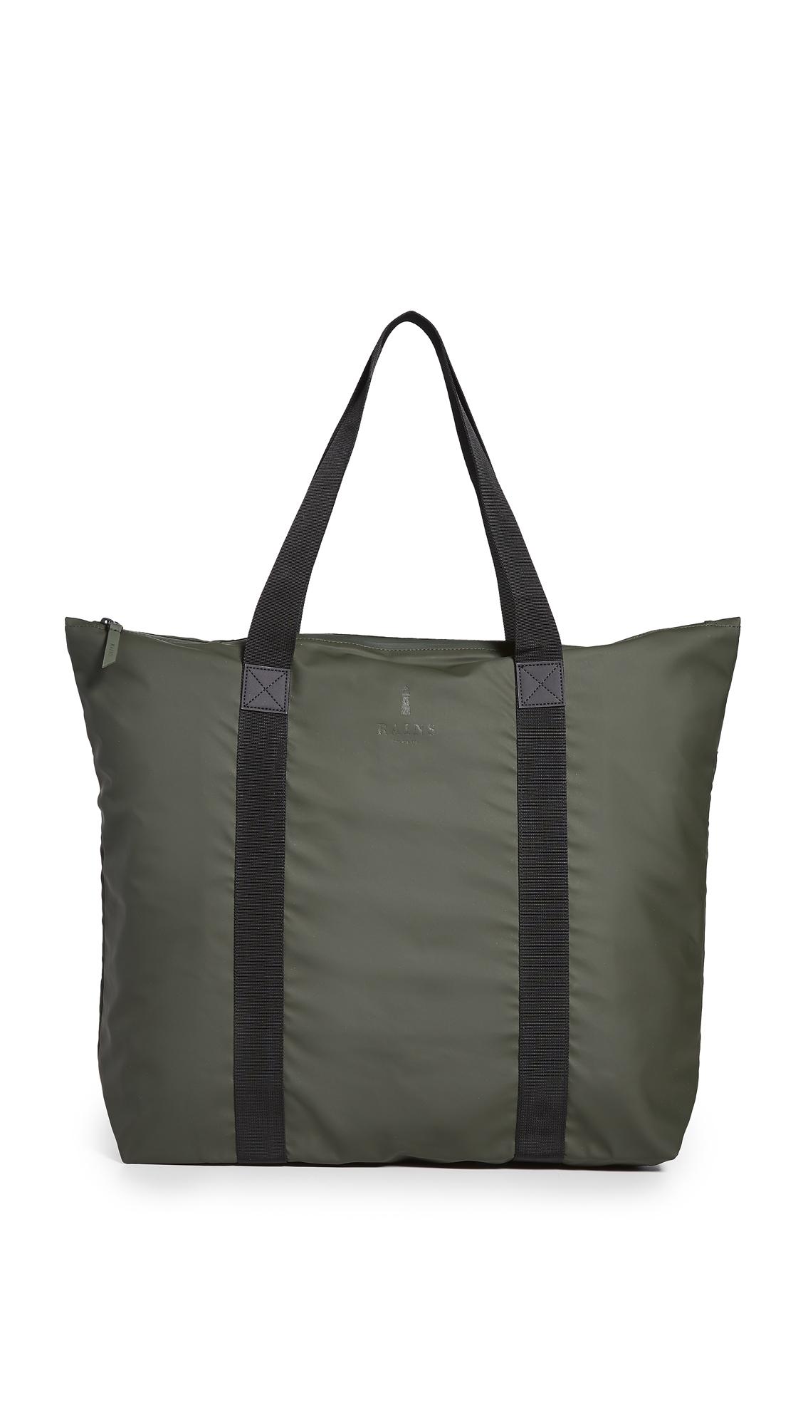 Rains Tote Bag In Green