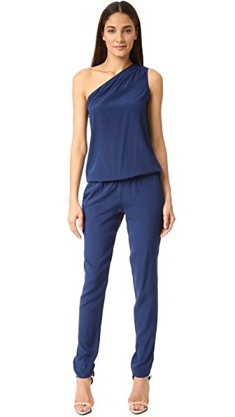 Ramy Brook Lulu One Shoulder Jumpsuit at Shopbop