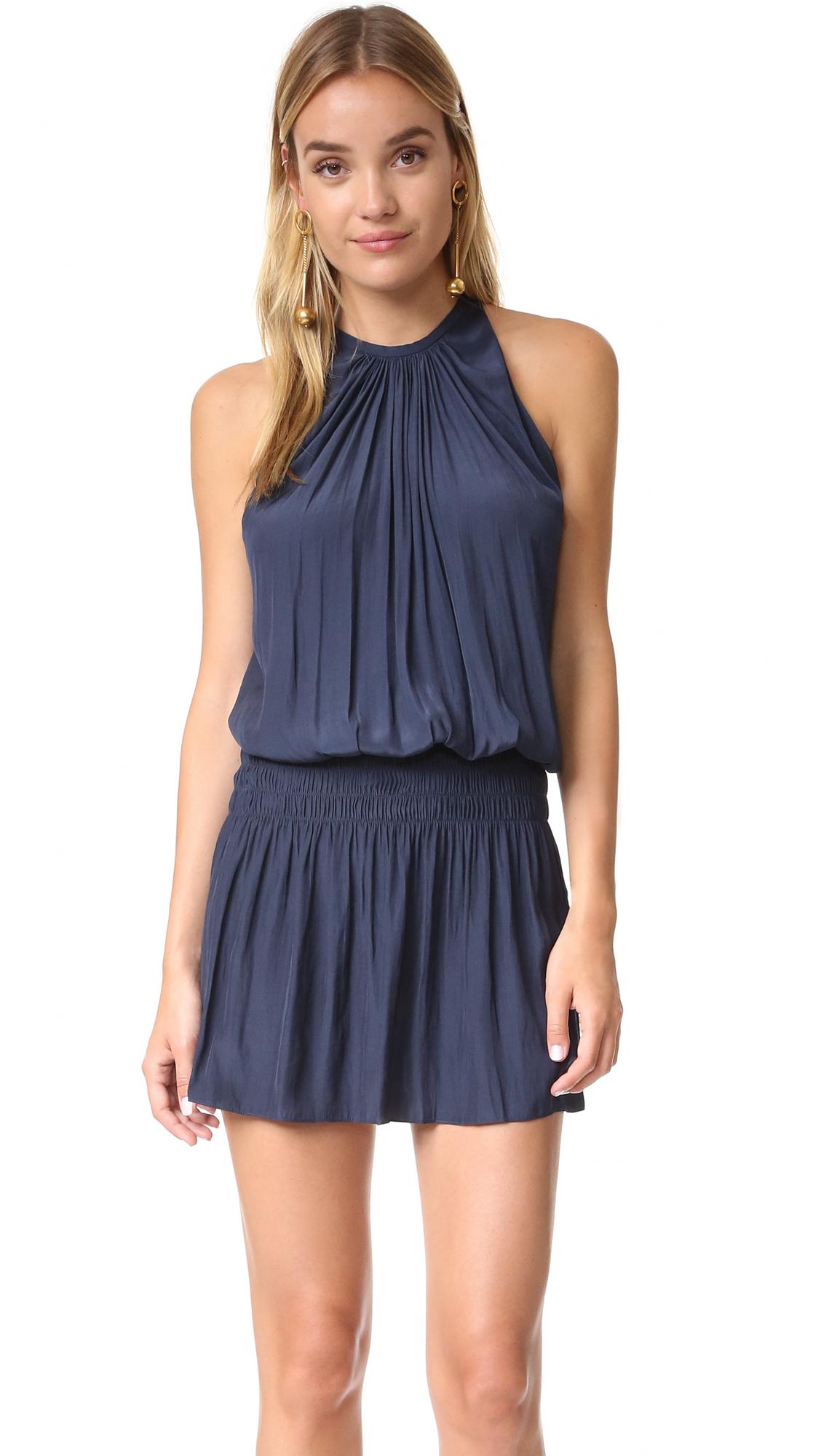 Ramy Brook Paris Sleeveless Dress - Navy