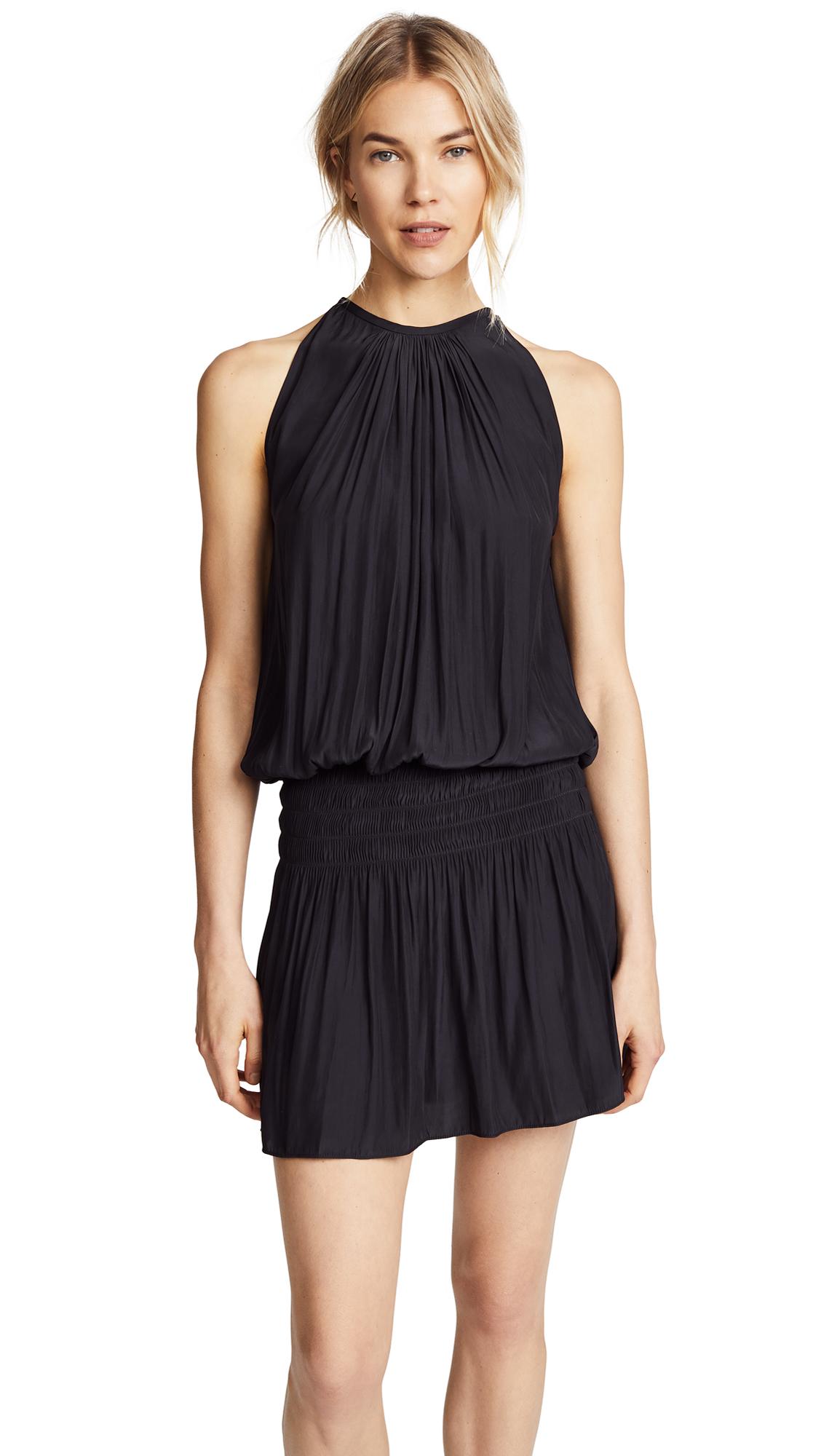 Ramy Brook Paris Sleeveless Dress - Black