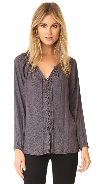 Ramy Brook Patricia Snake Top