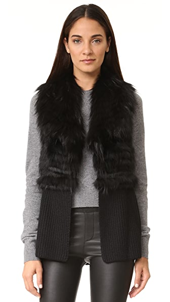 Ramy Brook Felicia Fur Vest