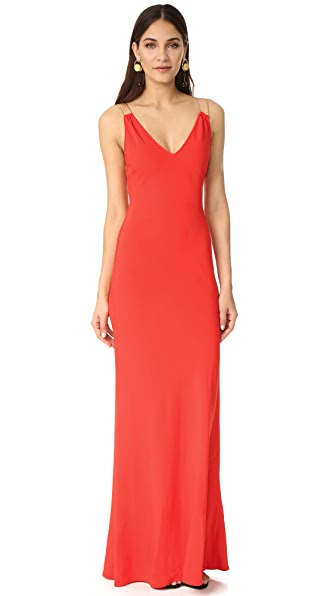 Ramy Brook Chantal Gown - Spring Red