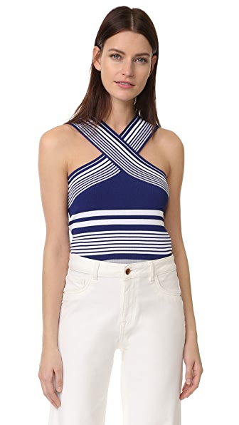 Ramy Brook Stripped Layla Knit Top