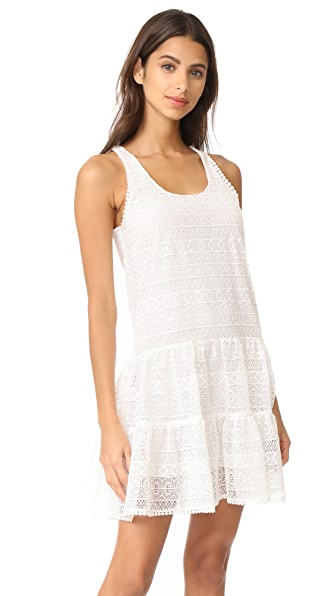 Ramy Brook Tamara Lace Dress - Soft White