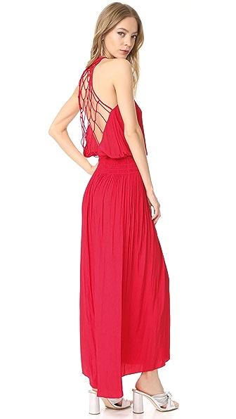 Ramy Brook Maya Dress - Bright Red