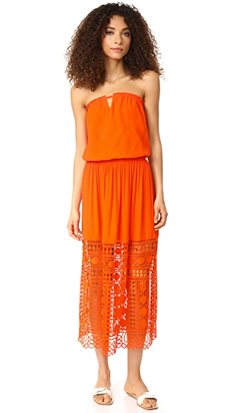 Ramy Brook Taylor Dress - Tiger Lily