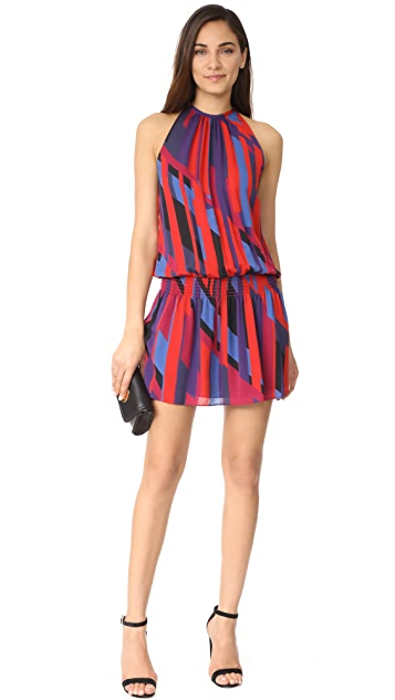 Ramy Brook Ibiza Geo Printed Sleeveless Paris Dress