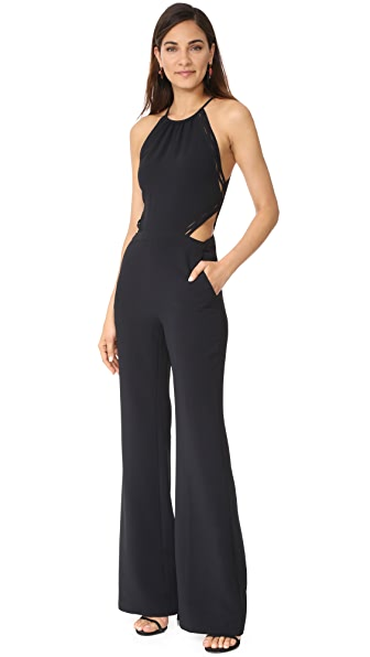 Ramy Brook Abbey Jumpsuit - Black