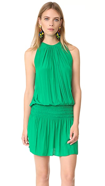 Ramy Brook Paris Sleeveless Dress - Meadow Green