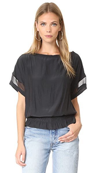 Ramy Brook Karlye Blouse - Black