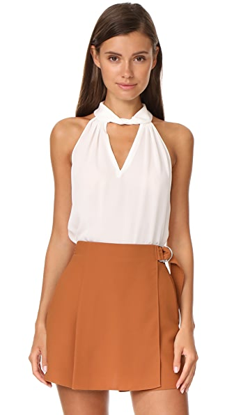 Ramy Brook Trinity Top In Soft White