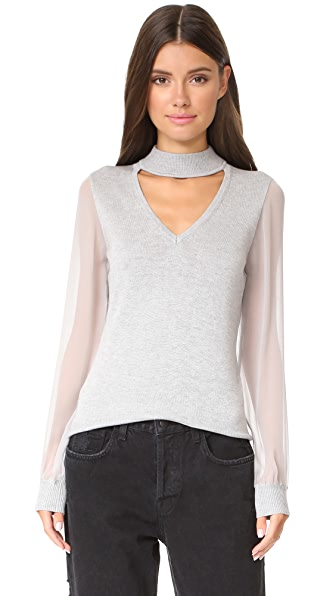 Ramy Brook Ashley Knit - Light Heather Grey