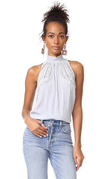 Ramy Brook Jacqueline Top - Silver