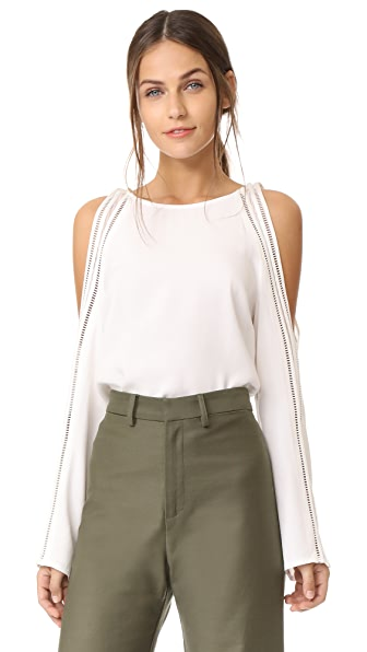 Ramy Brook Tracey Blouse In White