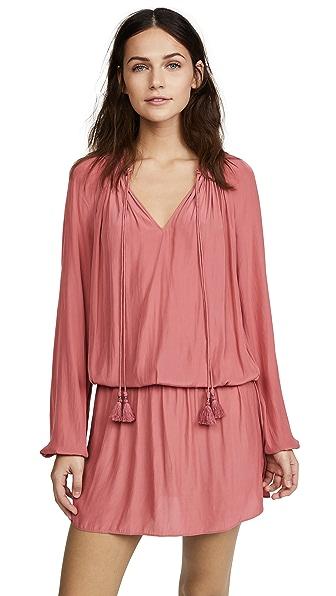 Ramy Brook London Dress In Burnt Pink