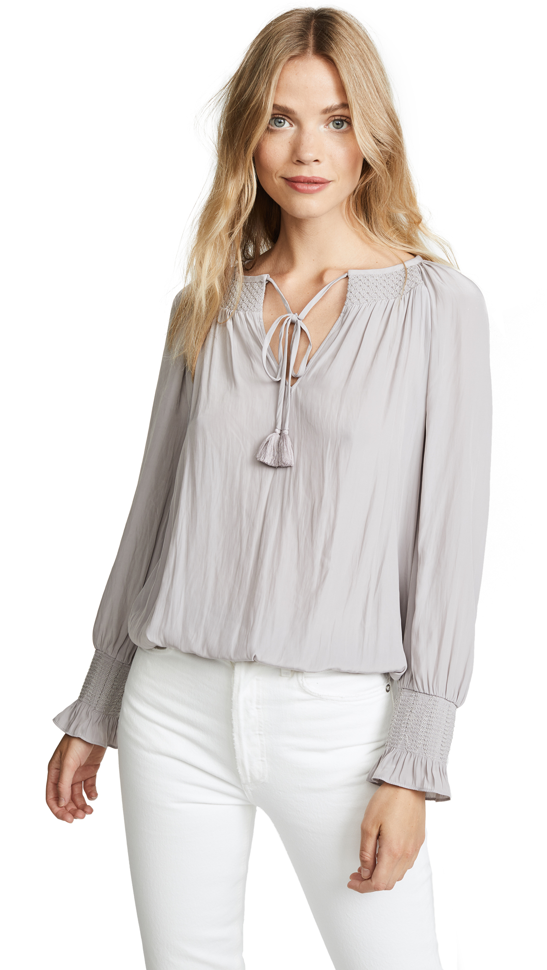 Ramy Brook Tenley Blouse In Stone