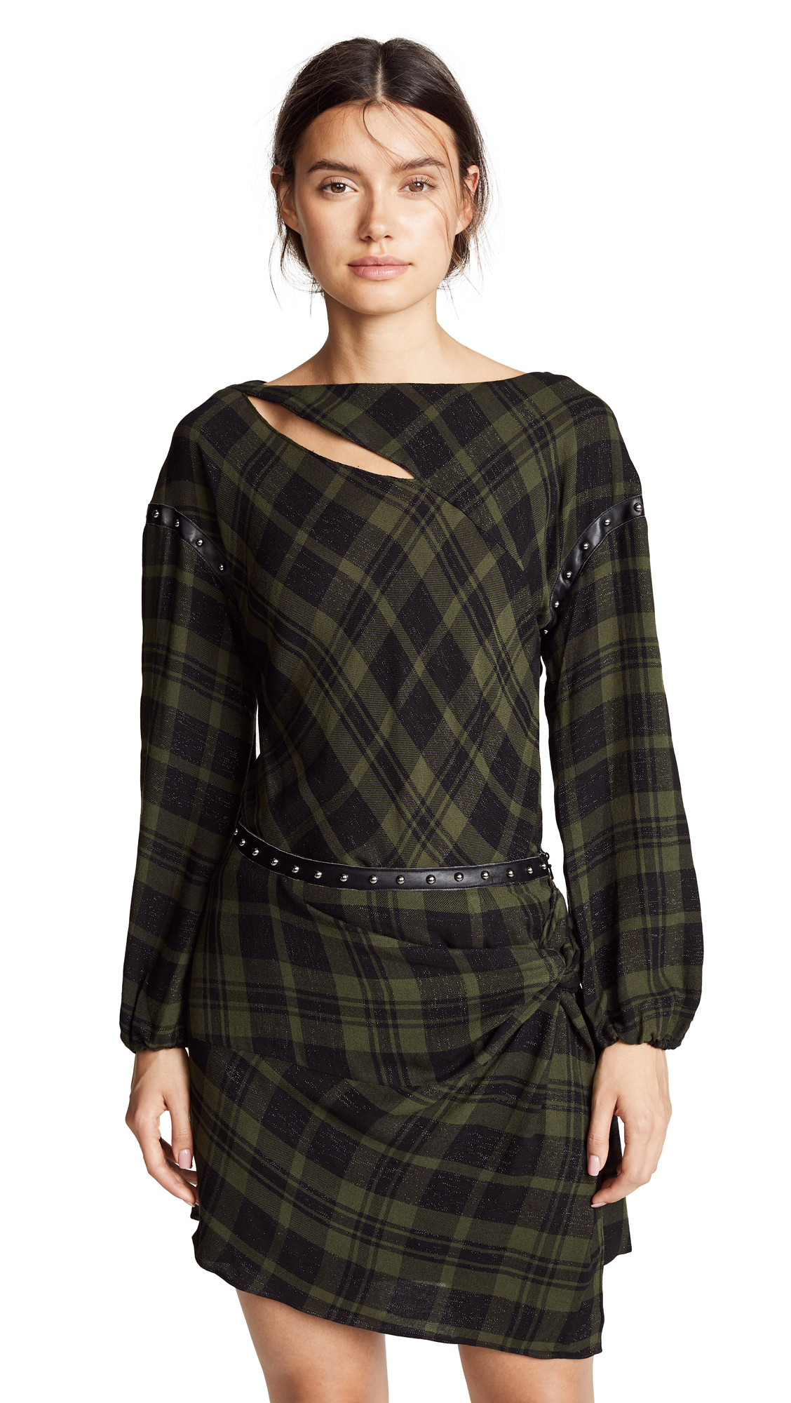 Ramy Brook Sloan Top In Urban Green