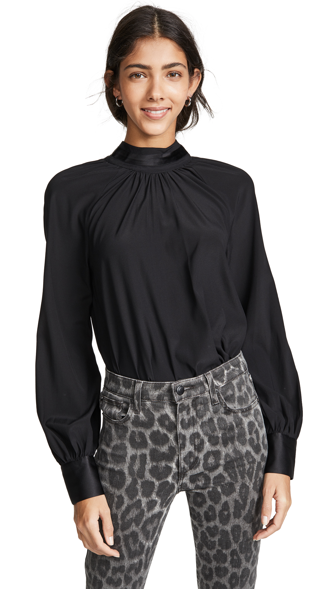 Ramy Brook Jordie Top In Black