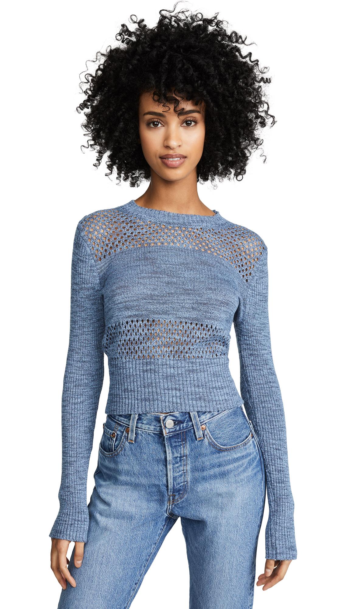 Ramy Brook Khloe Sweater - Chambray Multi