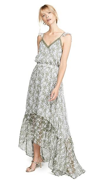 Ramy Brook Printed Schena Dress
